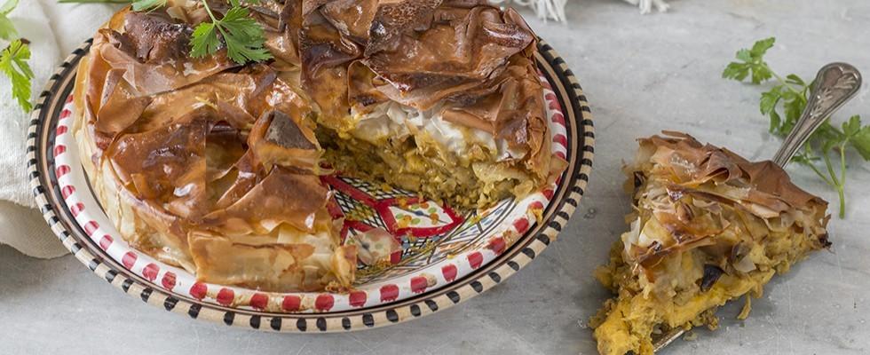 Pastilla con pollo: ricetta marocchina