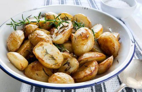 Le patate novelle fritte per un contorno appagante e sfizioso