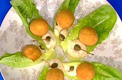 Polpette di coniglio tonnate con maionese ai capperi: la video ricetta della Prova del cuoco
