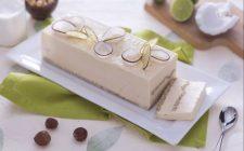 Il semifreddo cocco e lime per un dessert fresco e goloso