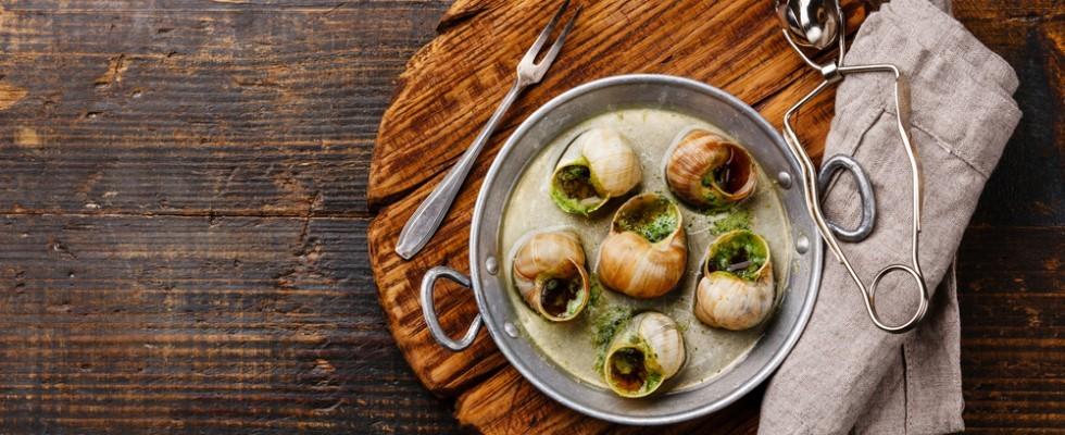 Cucina francese: come scegliere e mangiare le escargot