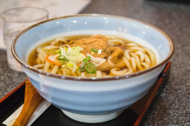udon e tofu