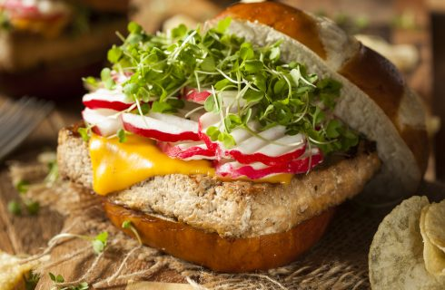 Ancora più leggeri: burger di tofu