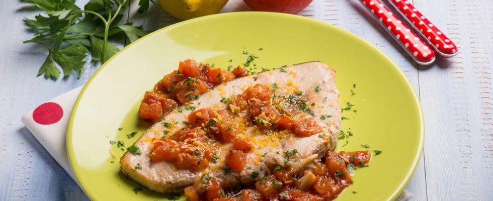 Pesce spada con pomodorini, il sapore dell'estate