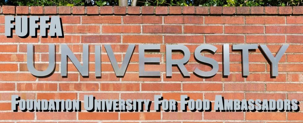 Valerio M. Visintin presenta la Foundation University For Food Ambassadors