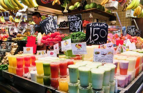 Barcellona vs Roma: al mercato della Boqueria si spende meno
