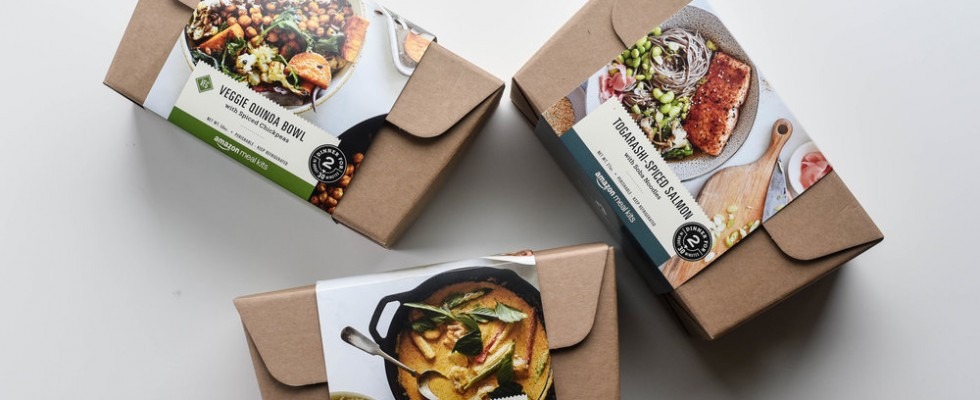 DIY: Amazon inizia a vendere i meal kit