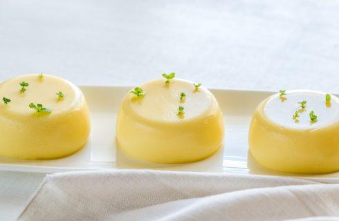Bonet al limone, il dolce fresco per l'estate