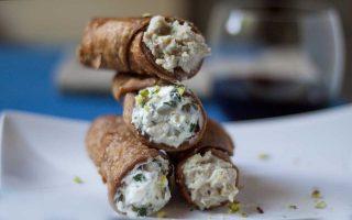 Cannoli salati: reinventare la tradizione