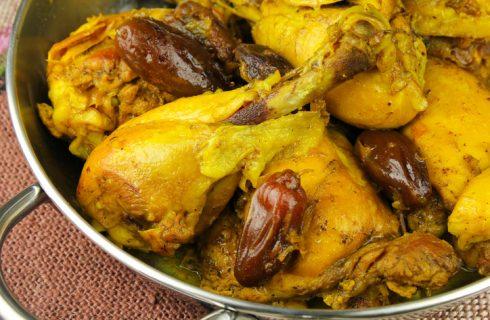 La ricetta delle cosce di pollo allo zafferano