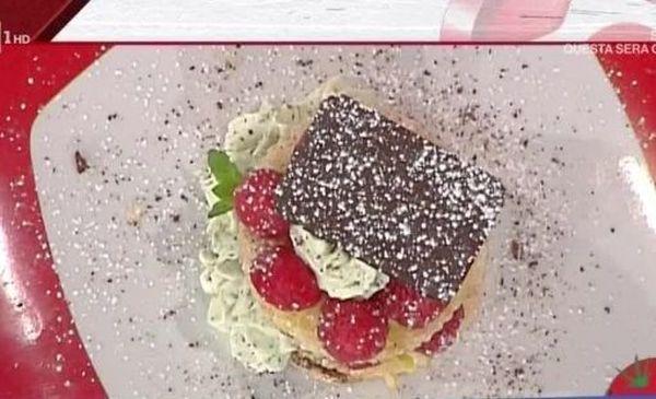 I french toast con yogurt alla vaniglia e lamponi con la video ricetta della Prova del Cuoco