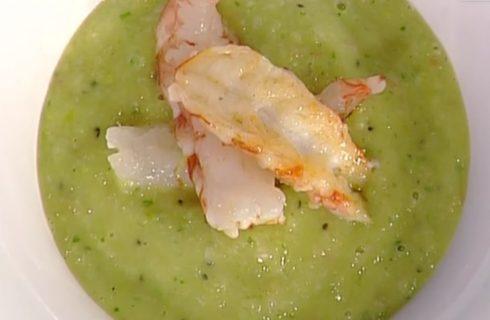 Gazpacho al kiwi con pomodorini e gamberi: la video ricetta della Prova del Cuoco