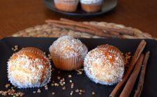 I muffin al cocco e limoncello perfetti per la merenda