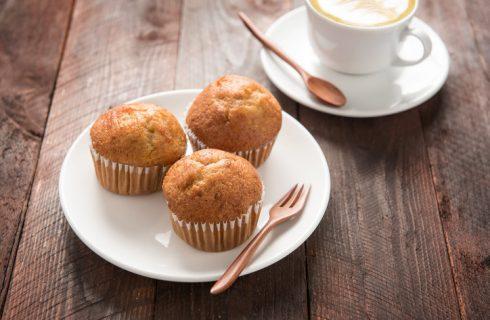 I muffin cocco e banana con la ricetta veloce