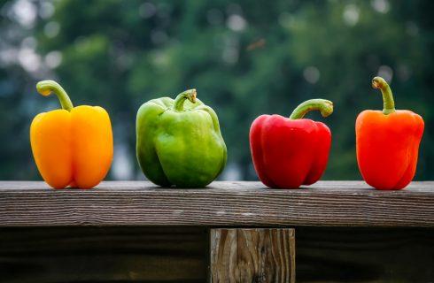 L'estate nell'orto: tipi di peperoni