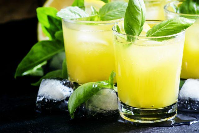 punch limone e basilico