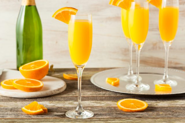 prosecco e succo d'arancia