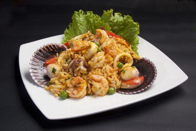 arroz mariscos