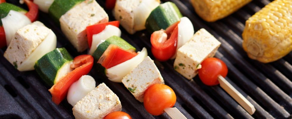 Gli spiedini di tofu con la ricetta facile