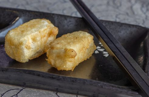 Tofu fritto senza uova, la ricetta