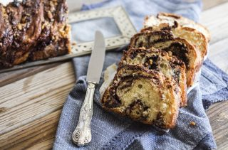 Krantz Cake, lievitato al cioccolato