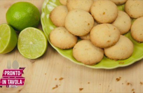 La video ricetta semplice dei biscotti al lime