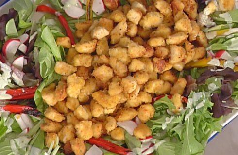 La Caesar salad rivisitata con la video ricetta della Prova del Cuoco