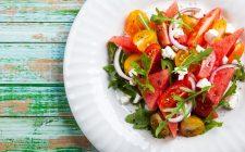 La ricetta golosa dell'insalata di cocomero, formaggio e lime