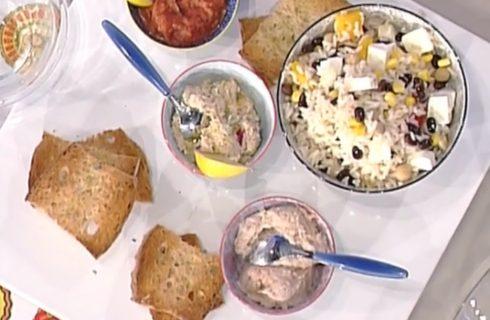 Insalata di riso di fine estate alle tre salse: la video ricetta di Marco Bianchi dalla Prova del Cuoco