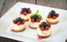 Come fare le mini cheesecake senza cottura