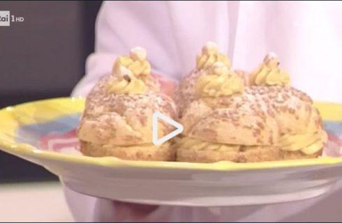 La video ricetta del paris brest della Prova del cuoco