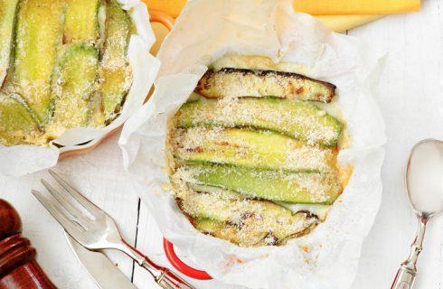 La parmigiana di patate e zucchine con la ricetta vegetariana