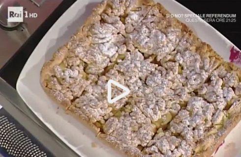 La video ricetta dei quadrotti di mele della Prova del Cuoco