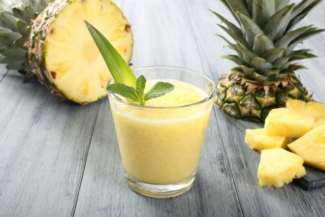 centrifugato ananas