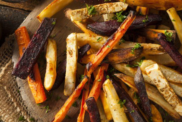 patate carote pastinaca al forno