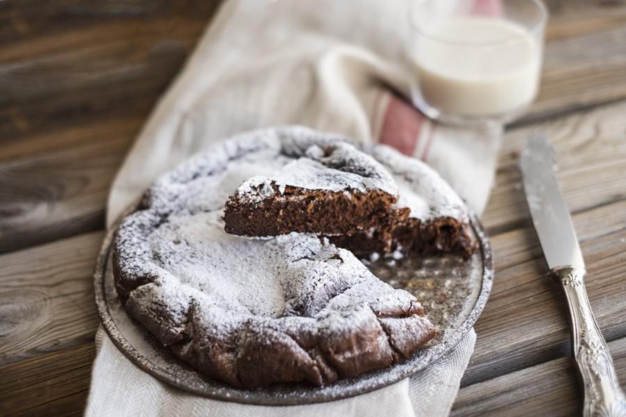 Bagno Nella Nutella.Ricetta Torta Magica Alla Nutella Agrodolce
