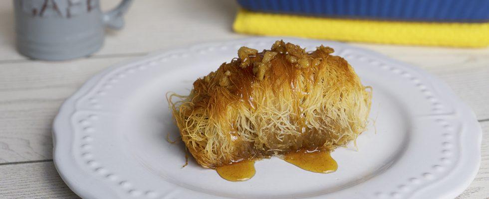 Kataifi: il dolce greco a base di frutta secca e miele