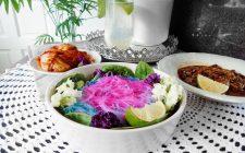 Colori dell'altro mondo: Unicorn noodles