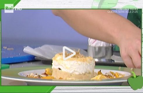 La cheesecake di marron glacé con la video ricetta della Prova del Cuoco
