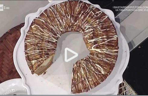 Ciambella al triplo gusto della Prova del Cuoco: la video ricetta