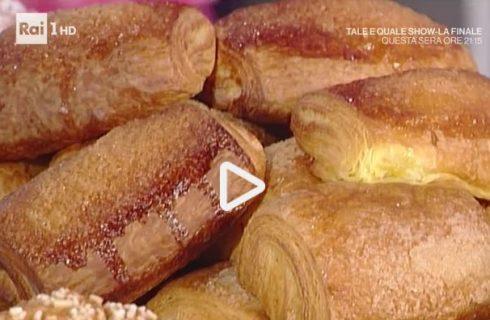 Cornetti fagottini e girelle della Prova del Cuoco: la video ricetta