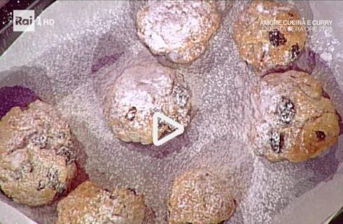 La video ricetta dei dolcetti al vin santo della Prova del Cuoco