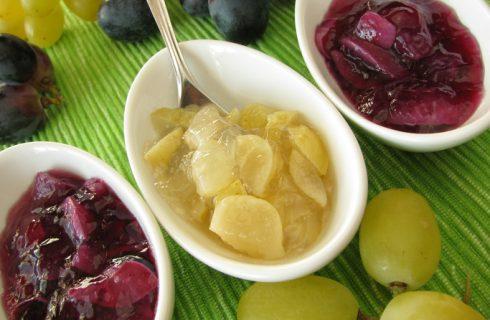 La ricetta della marmellata di uva bianca