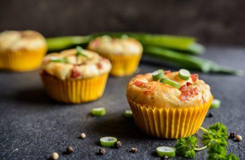I mini muffin salati per l'aperitivo