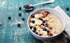 La ricetta dell'oatmeal con albumi