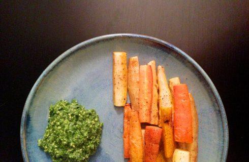 La ricetta del pesto di carote con il procedimento facile