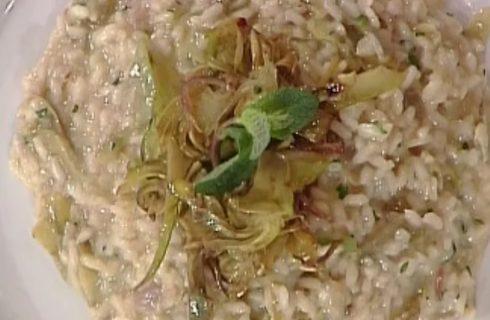 Risotto ai carciofi e menta: la video ricetta della Prova del Cuoco
