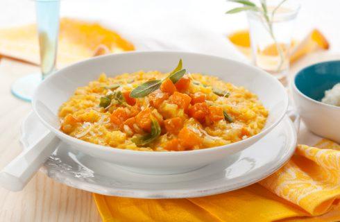 La ricetta del risotto di zucca gialla con il Bimby