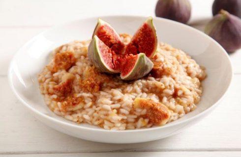 Come preparare il risotto ai fichi e gorgonzola