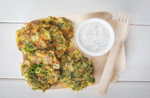 I rosti di zucchine con la ricetta senza uova